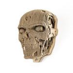 Terminator - cardboard head for self assembly.