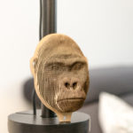 Gorilla - cardboard head for self assembly.