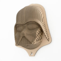 Lord Vader - cardboard head for self assembly.
