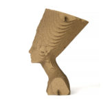 Nefertiti of cardboard Qbi.Design